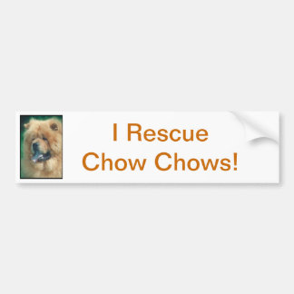 Chow Chow Bumper Stickers
