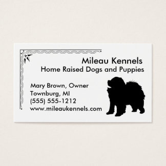 Chow Chow Business Card