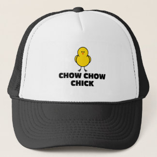 Chow Chow Chick Trucker Hat