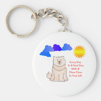 Chow Chow Cream Every Day Is A Good Day Keychain