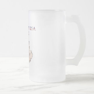 Chow Chow Cream Made In The USA Frosted Mug