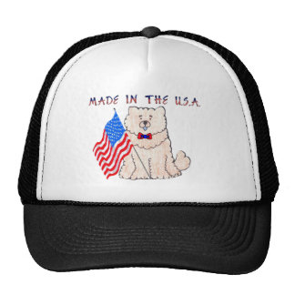 Chow Chow Cream Made In The USA Hat