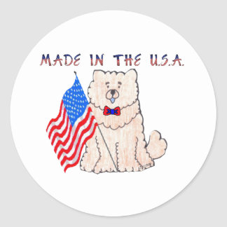 Chow Chow Cream Made In The USA Sticker