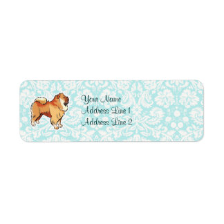 Chow Chow; Cute Label