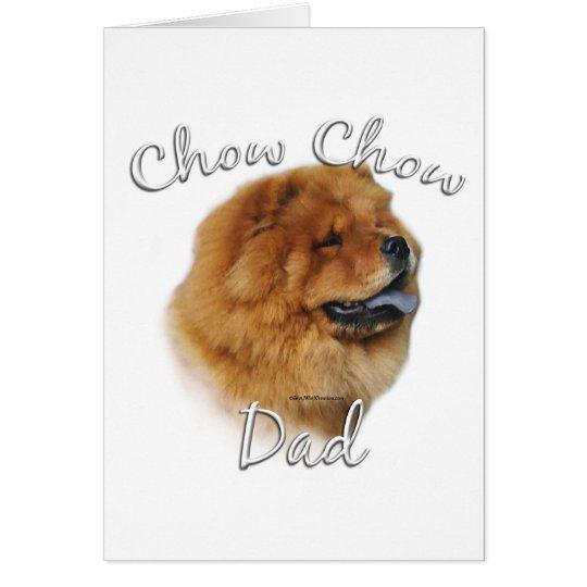 Chow Chow Dad 2 Card