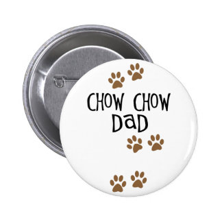 Chow Chow Dad Button