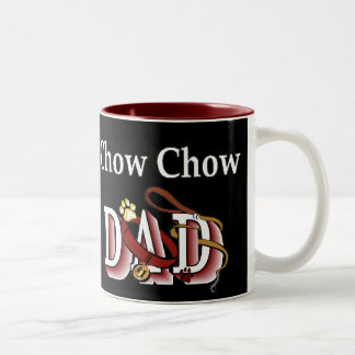 Chow Chow DAD Gifts Two-Tone Coffee Mug