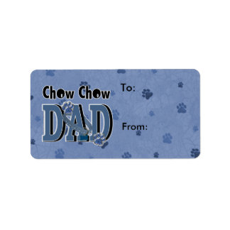 Chow Chow DAD Label