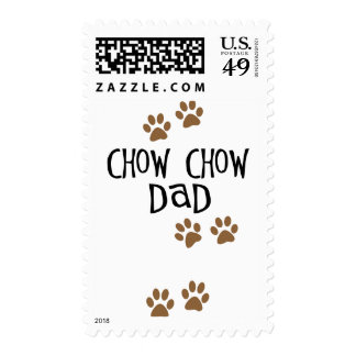 Chow Chow Dad Stamp