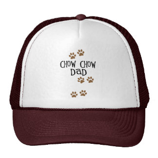 Chow Chow Dad Trucker Hat