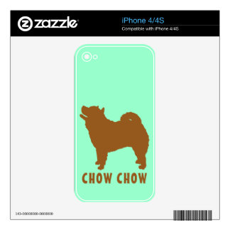 Chow Chow Decals For The iPhone 4S