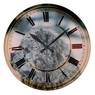 Chow Chow Dog beautiful Art Clock