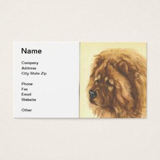 Chow Chow Dog Business Card