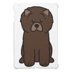 Case Savvy iPad Mini Glossy Finish Case with Chow Chow Phone Cases design