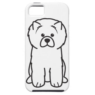 Chow Chow Dog Cartoon iPhone SE/5/5s Case