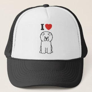 Chow Chow Dog Cartoon Trucker Hat