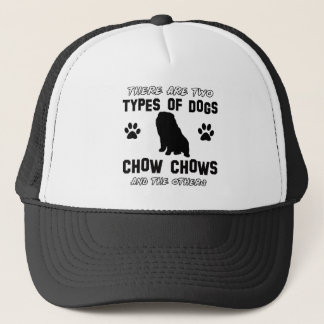 chow chow dog designs trucker hat