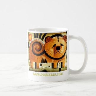 Chow Chow dog dk_2005aug8m www pugcasso com Coffee Mug