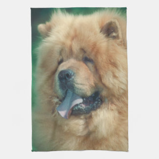 Chow Chow Dog Kitchen Towel