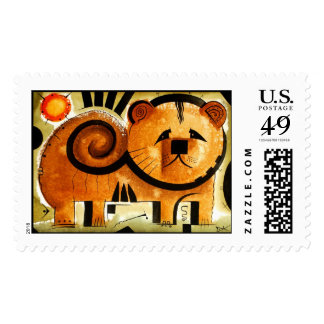 Chow Chow dog stamp dk_2005aug8m