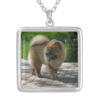 chow chow full.png square pendant necklace