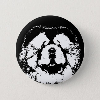 Chow Chow Gifts - Button