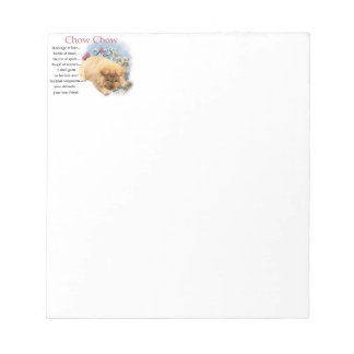 Chow Chow Heritage of Love Notepad