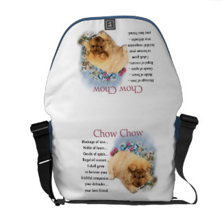 Chow Chow Heritage of Love Puppy Courier Bag