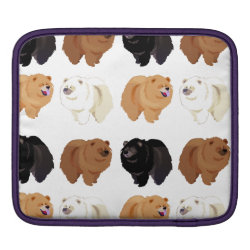 iPad Sleeve with Chow Chow Phone Cases design