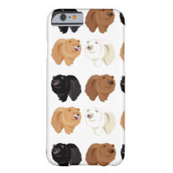 Case-Mate Barely There iPhone 6 Case with Chow Chow Phone Cases design