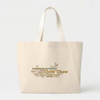 Chow Chow Large Tote Bag