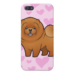 Case Savvy iPhone 5 Matte Finish Case with Chow Chow Phone Cases design
