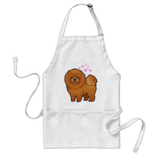 Chow Chow Love Apron