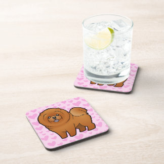 Chow Chow Love Beverage Coaster