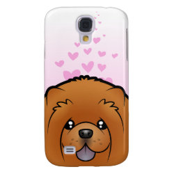 Case-Mate Barely There Samsung Galaxy S4 Case with Chow Chow Phone Cases design