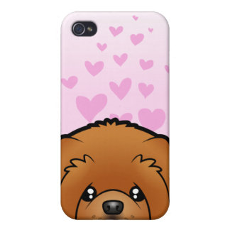 Chow Chow Love iPhone 4/4S Cases