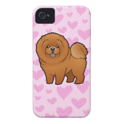 Case-Mate iPhone 4 Barely There Universal Case with Chow Chow Phone Cases design