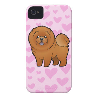 Chow Chow Love iPhone 4 Case-Mate Case