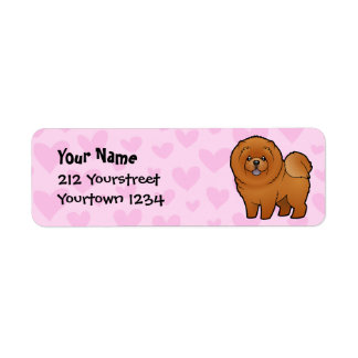 Chow Chow Love Label