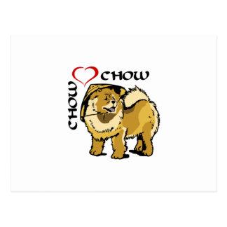 CHOW CHOW LOVE POSTCARD