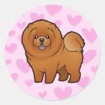 Chow Chow Love Sticker