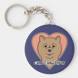 Chow Chow Lover Keychain