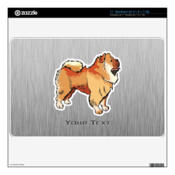 17' Laptop Skin for Mac & PC with Chow Chow Phone Cases design