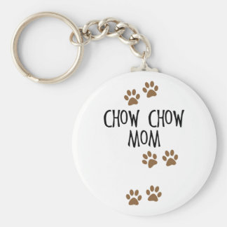 Chow Chow Mom Key Chains