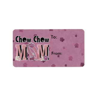 Chow Chow MOM Label