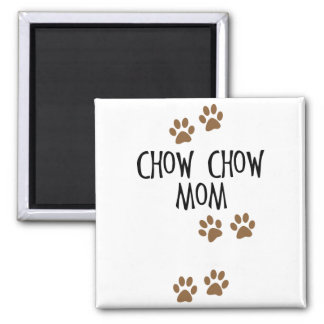 Chow Chow Mom Magnets