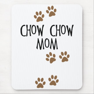 Chow Chow Mom Mouse Pad