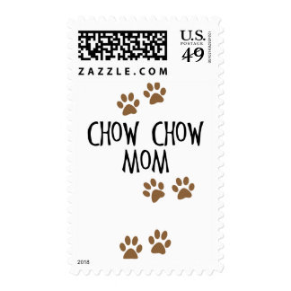 Chow Chow Mom Postage Stamp