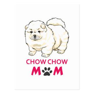 CHOW CHOW MOM POSTCARD