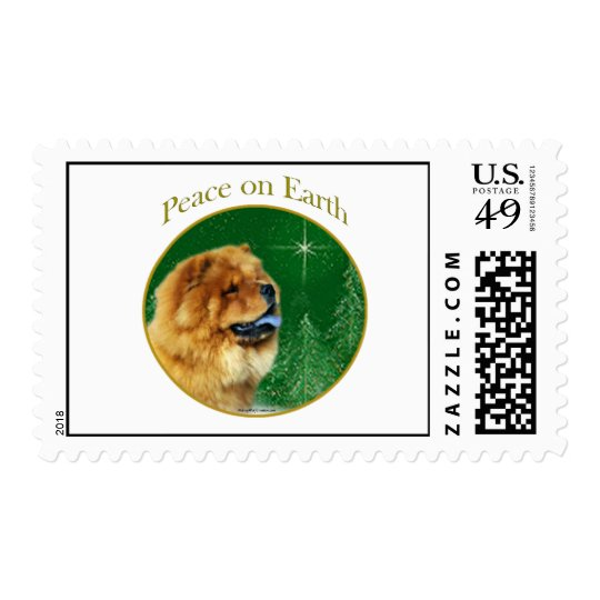 Chow Chow Peace Postage